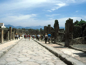 Pompeii - straat