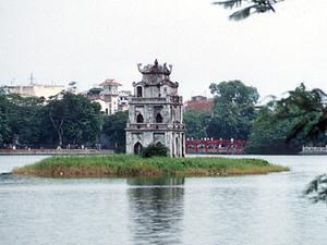 Hanoi - Hoan Kiem meer