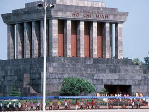 Hanoi - Ho Chi Minh mausoleum