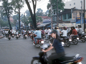 Saigon - straatbeeld