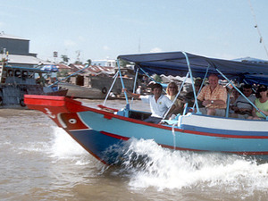 Mekong delta - boottocht