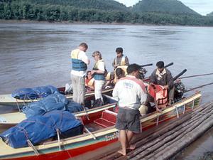 Mekong - speedboot