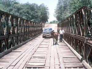 Onderweg - brug