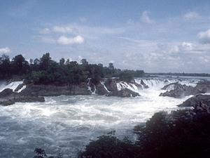 Khong Island - stroomversnelling