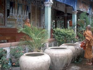 Angkor - monniken