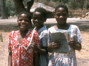 Bangani - schoolkinderen