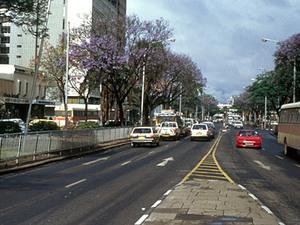 Nairobi - Jomo Kenyatta Avenue