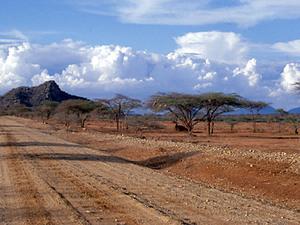 Samburu NP – weg na Isiolo
