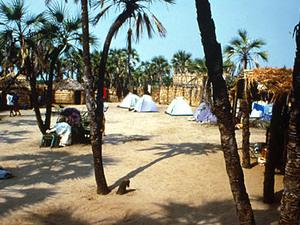 Lake Turkana – onze campsite