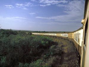 Trein Nairobi - Mombasa