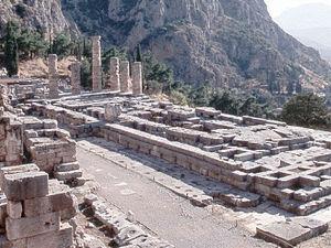 Delphi - heiligdom