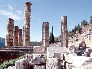 Delphi - tempeltje