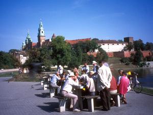 Kraków - Wawelkasteel