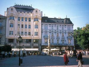 Bratislava - marktplein