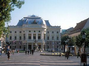 Bratislava - theater