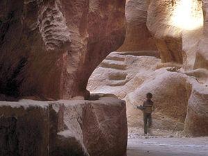 Petra - toegangskloof