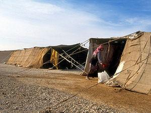 Wadi Rum - tentenkamp