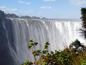 Livingstone - Victoria watervallen