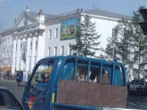 Ulaanbaatar - drukte