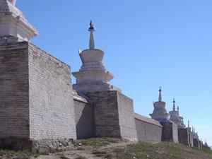 Karakorum - muur Erdene Zuu klooster