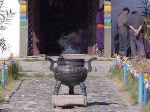 Karakorum - Erdene Zuu klooster wierookvat