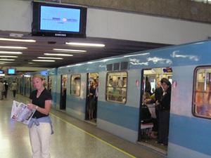 Santiago de Chile - de metro