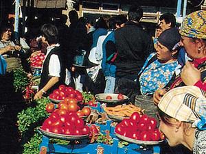 Kutaisi - op de markt