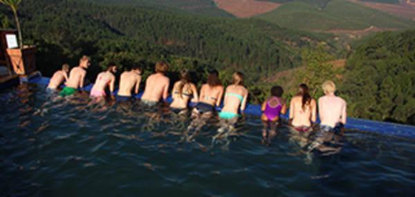 Met de kinderen naar Zuid-Afrika