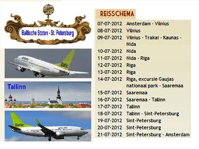 Litouwen, Letland, Estland en Rusland, 15 dgn - juli