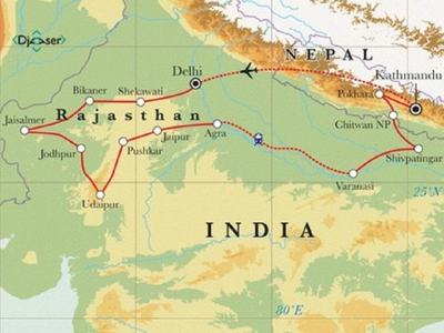 Noord-India, Rajasthan & Nepal, 30 dagen