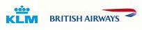 KLM/British Airways combinatie
