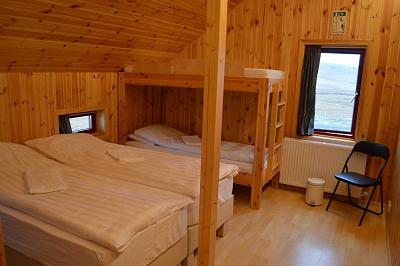 Bunkroom hotel IJsland