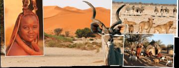 Overzicht Namibie rondreizen van Djoser
