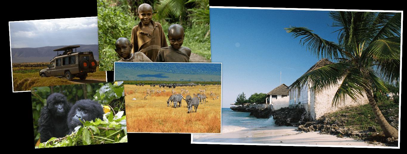Oeganda, Tanzania & Zanzibar