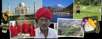 Overzicht Azië rondreizen van Djoser