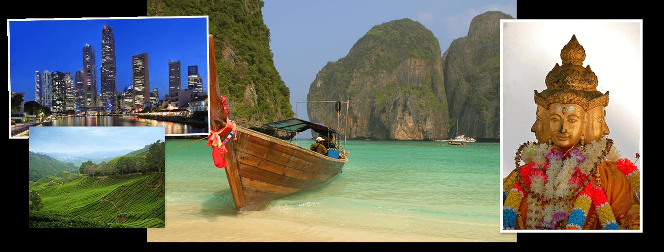Singapore, Maleisie & Thailand