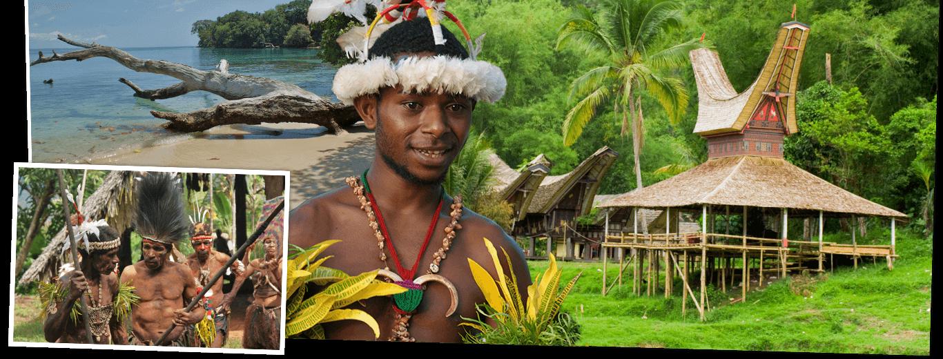 Sulawesi & Papoea