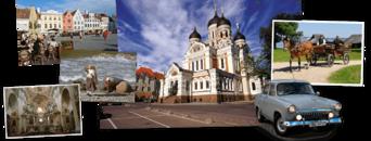 Litouwen, Letland, Estland & Rusland