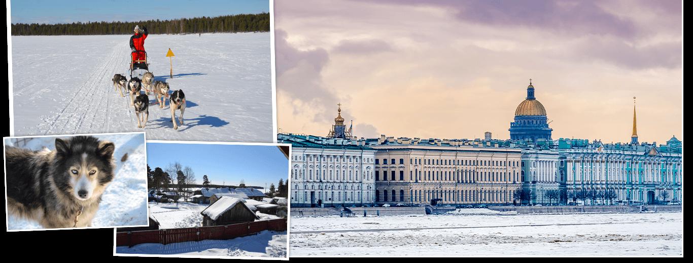 Winterreis Rusland