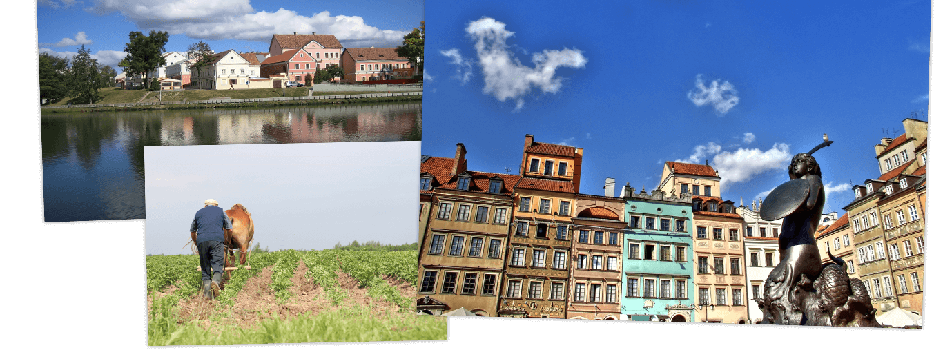 Wit-Rusland, Kaliningrad & Polen
