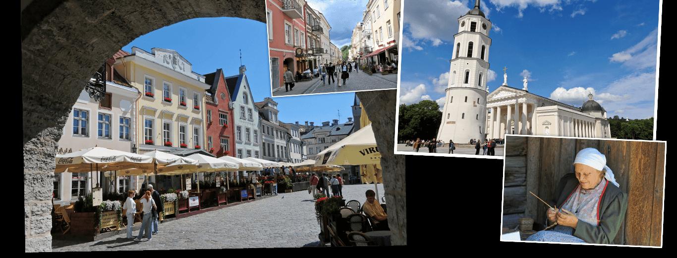 Litouwen, Letland & Estland