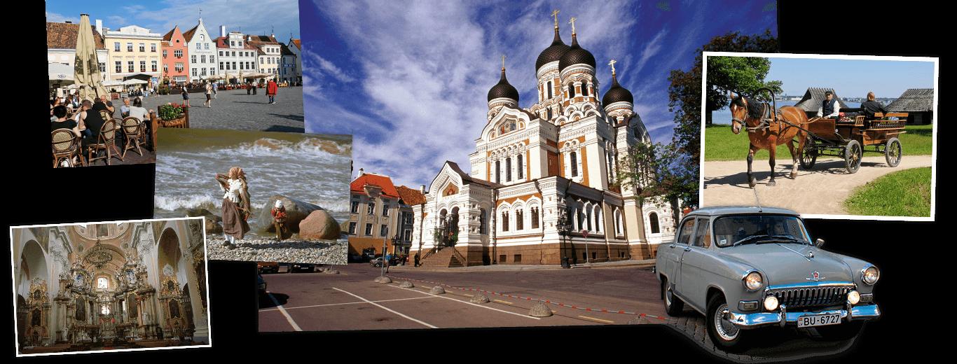 Litouwen, Letland, Estland & St. Petersburg