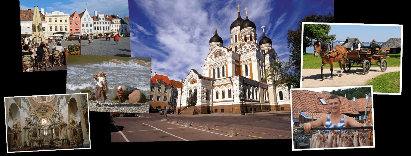Litouwen, Letland, Estland & Sint-Petersburg