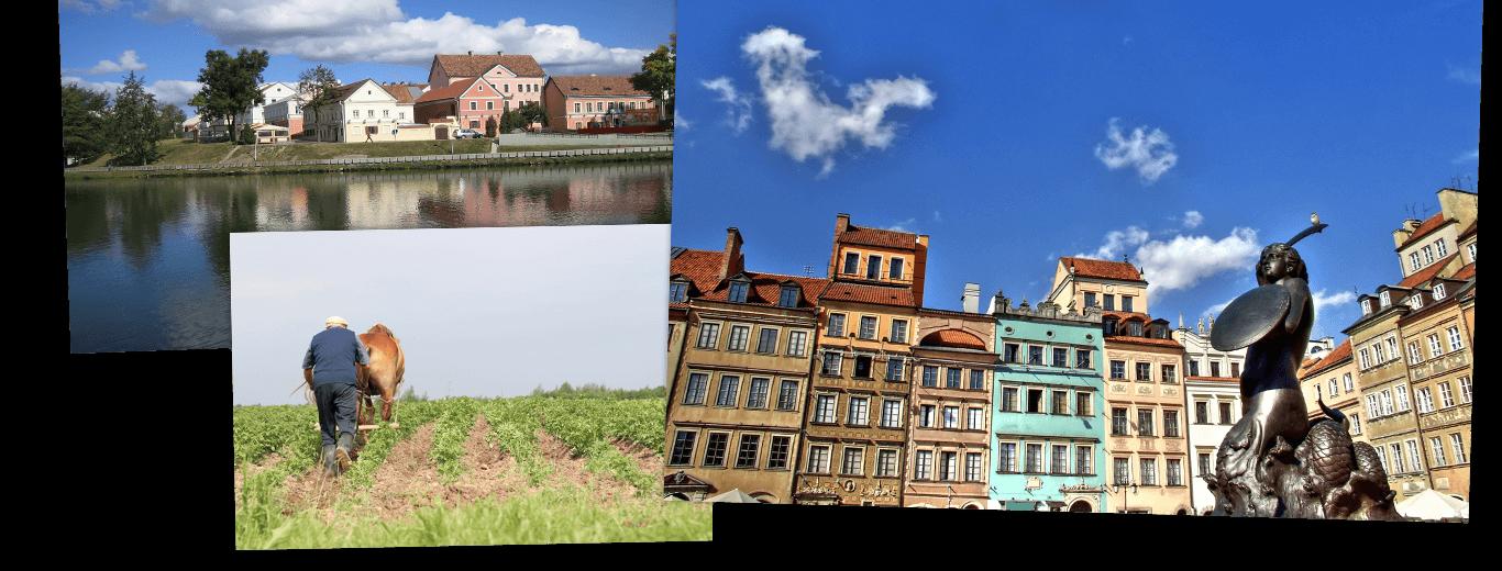 Wit-Rusland, Kaliningrad en Polen