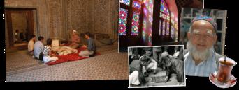 Iran, Turkmenistan en Oezbekistan