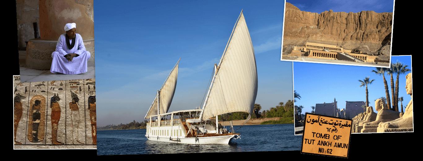 Egypte, Nijlvallei en zeiltocht