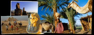 Overzicht Egypte rondreizen van Djoser