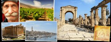 Overzicht Libanon rondreizen van Djoser