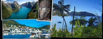 Overzicht Nieuw-Zeeland rondreizen van Djoser