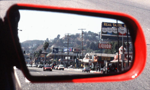 Los Angeles - Sunset boulevard
